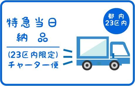 特急印刷当日納品(東京23区内)